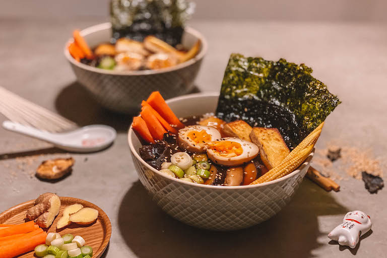 Ramen-soep
