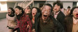 《活著》Alive男女主角頂樓天台被活屍包圍