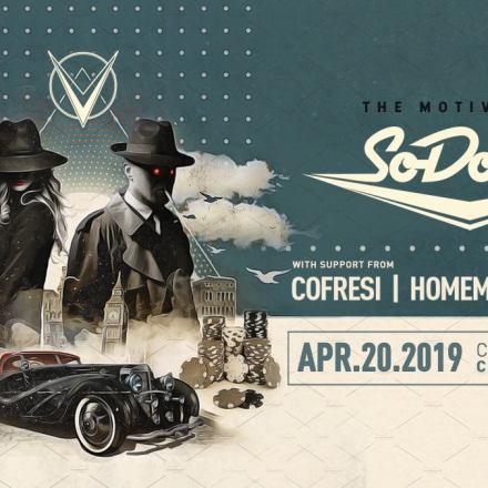 SoDown – The Motive Tour w/ COFRESI & Homemade Spaceship @ Chop Shop [Chicago] 4/20