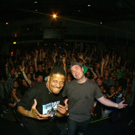 Chali 2na + Cut Chemist (of Jurassic 5): One Collaborative Set @ Chop Shop
