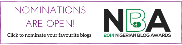 2014 Nigerian Blog Awards ad