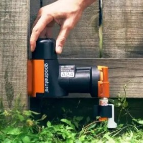 goodnature humane mouse trap in garden