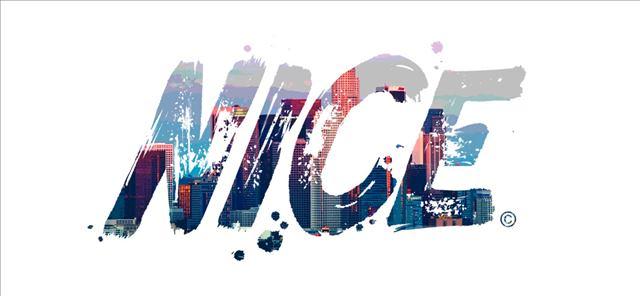 NICE logo-skyline
