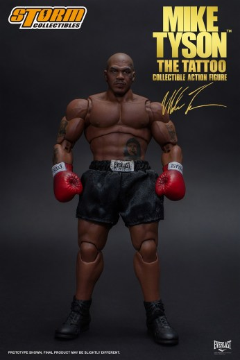 Storm Collectibles Mike Tyson Tattoo Pic 2
