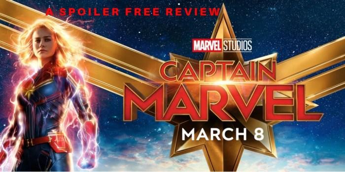 Captain Marvel Spoiler Free Review
