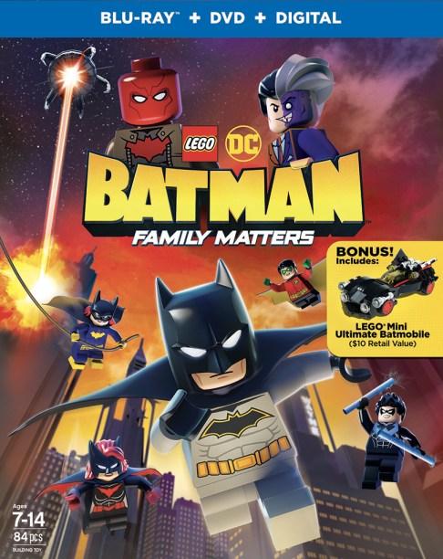 LEGO DC Batman Family Matters BD Combo 2D