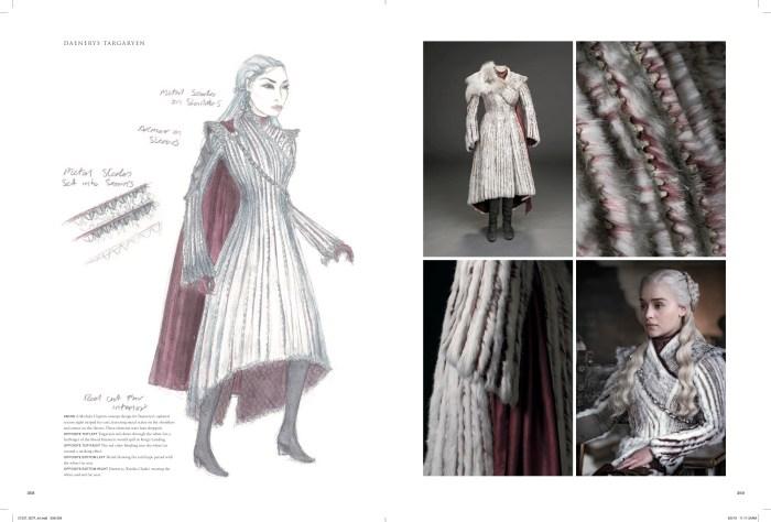 Daenerys Targaryen white fur