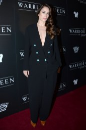 "NEW YORK, NY - NOVEMBER 13: Jodhi May attends The Wing Hosts The World Premiere Of Roadside Attractions' ""The Warrior Queen Of Jhansi"" at Metrograph on November 13, 2019 in New York. (Photo by Paul Bruinooge/PMC/PMC) *** Local Caption *** Jodhi May"