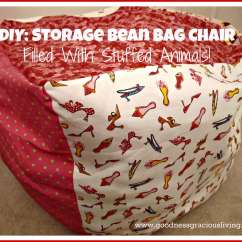 Bean Bag Storage Chair Chicago Stool & Inc Diy A Place To Hide The Mess