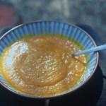 spicy pumpkin lentil soup