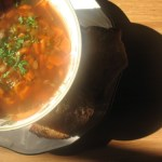 french green lentil soup - a soup to soothe & a tea to heal