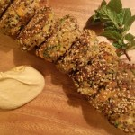 sweet potato white bean herb & quinoa patties