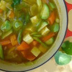 mellow tofu & vegetable stew with kombu
