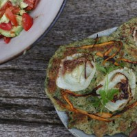 fermented mung bean pancakes - revisted