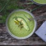 a simple spring asparagus soup
