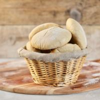 homemade pita - israeli style