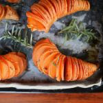 Donna's Hasselback Sweet Potatoes