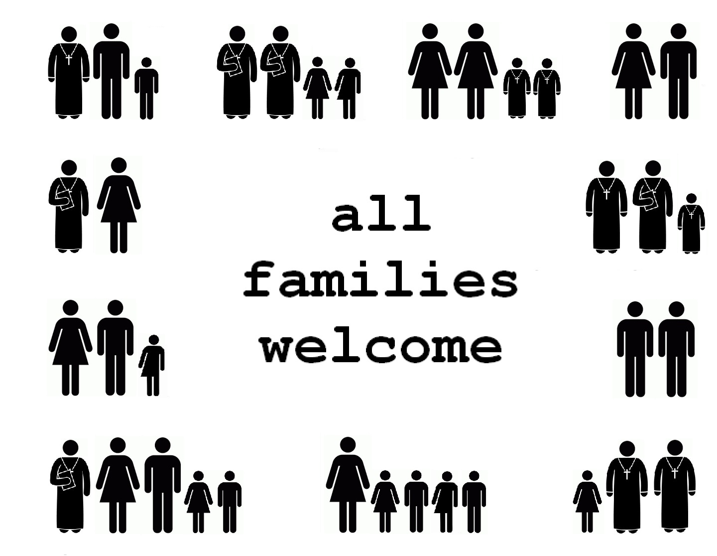 All Families Welcome: Safe Space Posters for Your Church