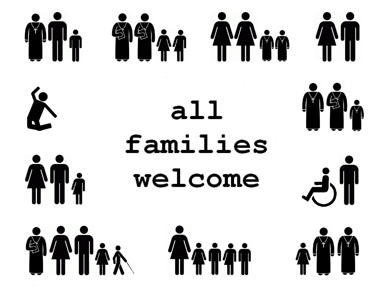 All Families Welcome, Part III: Poster with Many Abilities