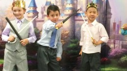 Golden Elementary students at the Fairy Tale Ball.