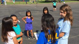 PALs resolving conflicts at recess.