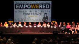 A picture from the Women in Industry Conference.