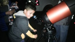 Astronomy night at Rose Drive.