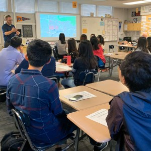 Kraemer hosted educators from China recently.