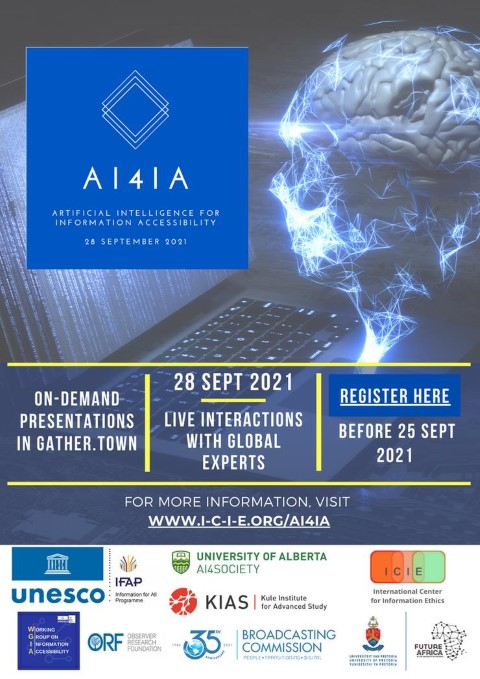 2nd Annual Artificial Intelligence for Information Accessibility (AI4IA) Conference Highlights the International Day for Universal Access to Information (IDUAI)