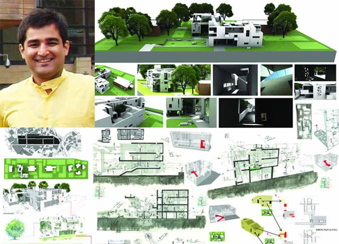 Pakistani Architect Wins Best Thesis Of '1011  Goodnewspk