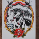 Pharaoh S Horses Tattoo Flash Good Old Times Tattoo Classic Tattoo