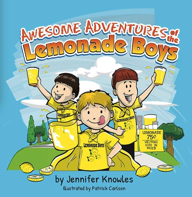 the best lemonade recipe; a book about lessons learned from a lemonade stand