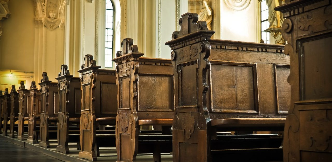 church-bank-wood-benches-161060