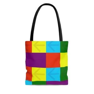 Color Points Tote Bag