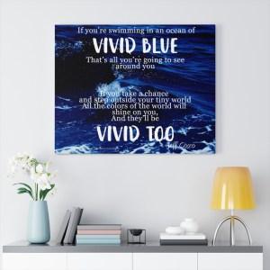 Vivid Blue Wrap