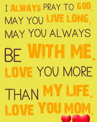 Mom I Love You Quotes : quotes, Quotes, Sayings