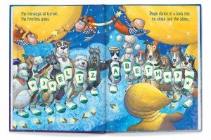 interior artwork from Goodnight Little Me by Jennifer Dewing with illustrations by  GrandPré
