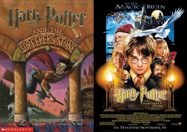 Great films, bad books