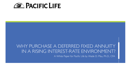 Pacific Life, Annuities, Bank CD, CD, Interest rates,