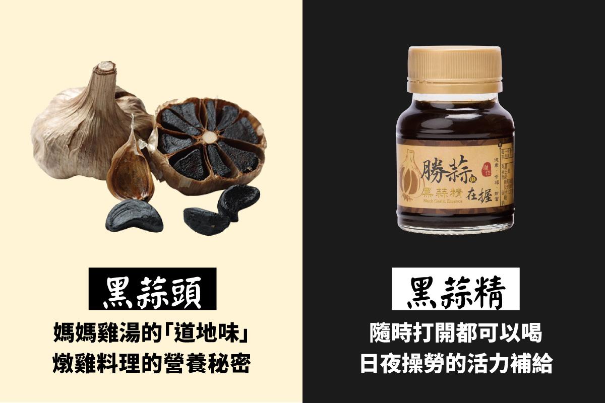 領先日本熟成技術 活力補給勝蒜在握 - 詠統黑蒜頭黑蒜精 - GOODS好東西