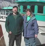 Mark Stopha and Sara Hannan
