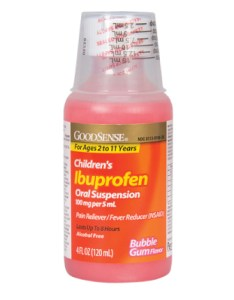 Goodsense children   ibuprofen oral suspension mg per ml bubble gum flavor image also rh