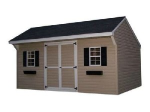 436_carriage_final_crop_600x 450 vinyl carriage 496_the_ole_classic_with_dormer - Garden Sheds Vinyl