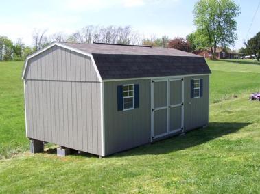 12 x 20 Painted High Barn Shingled Spec