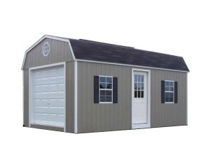 Painted High Barn Garage