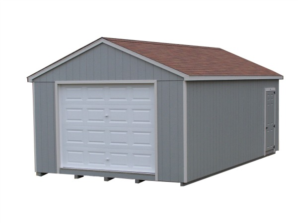 Painted a roof garage good 39 s garden sheds for 12x14 garage door