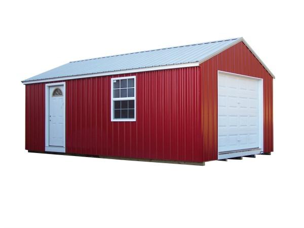 All Metal Garage 600x450