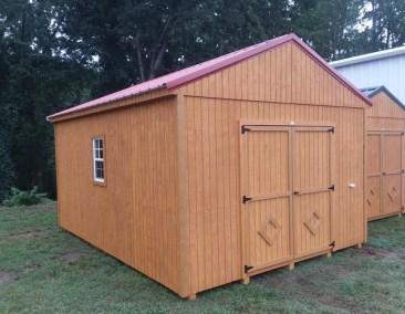 12x16 Treated A-Roof (MO# 544)