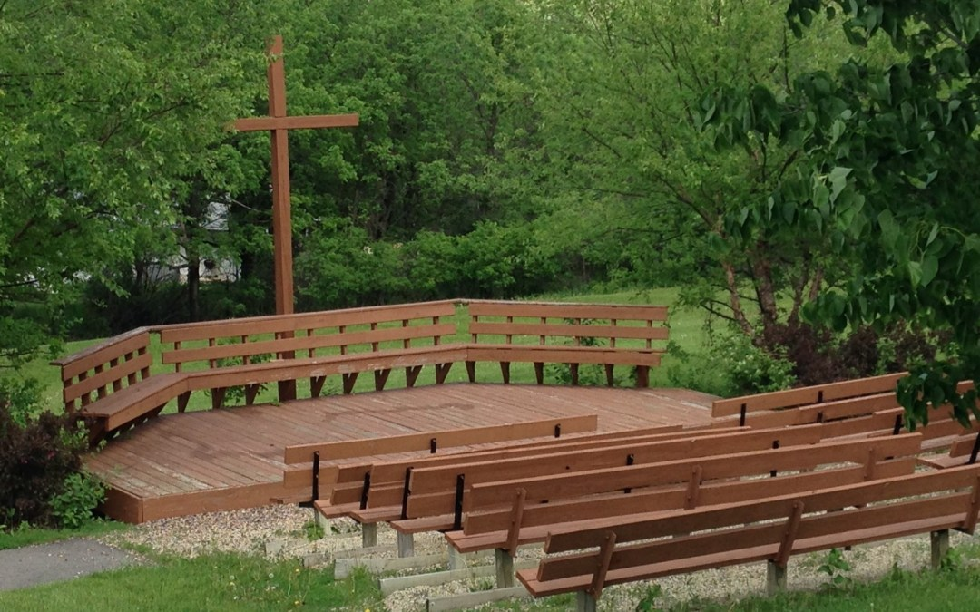 Stain The Outdoor Worship Space