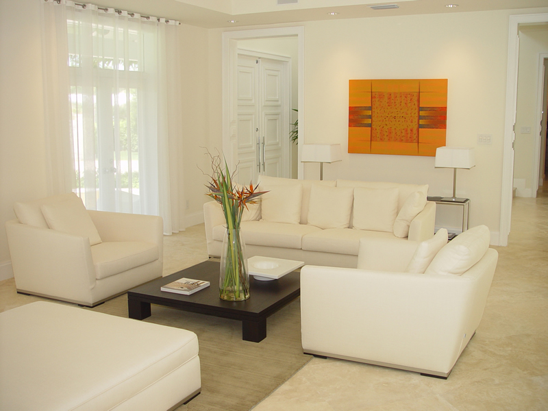 14 White Living Rooms Design  Home Design Garden  Architecture Blog Magazine